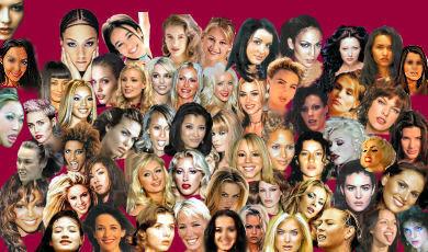 femmes sexy et célèbres